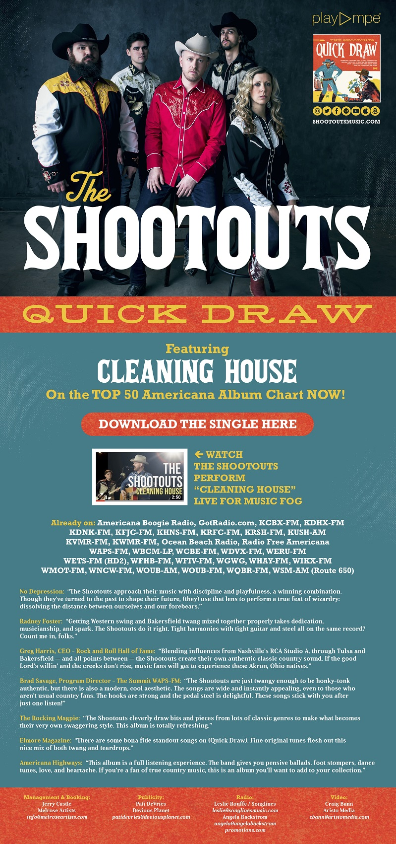 The Shootouts - Cleaning House - Daily Play MPE®Daily Play MPE®